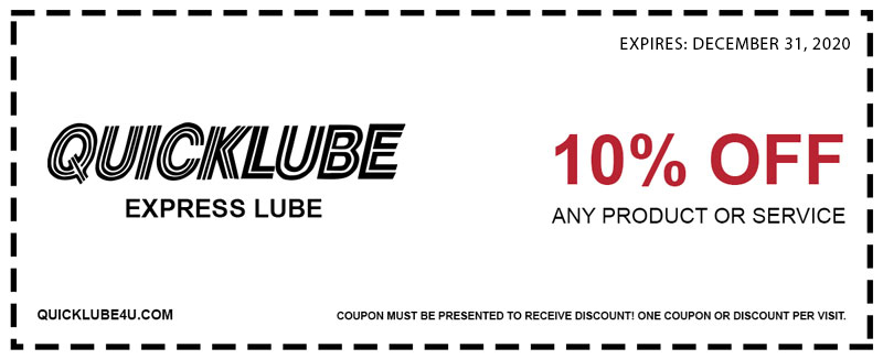 Quicklube Express Lube Quickwash Coupons Quicklube